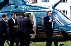 """Як """"регіонали"""" заробляють на елітних вертольотах"""