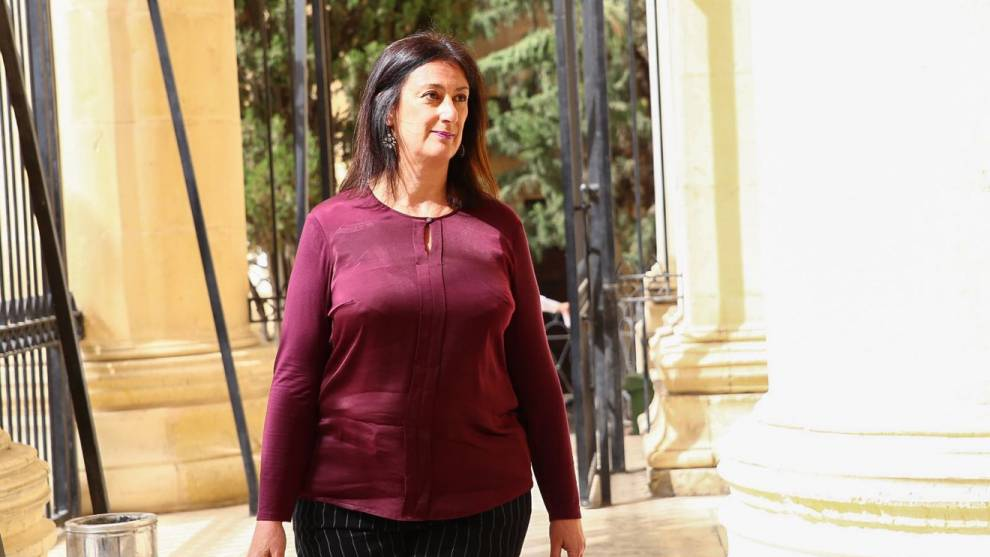Журналістка, яку вбито на Мальті, звинувачувала дружину прем`єр-міністра в офшорних оборудках із сім`єю президента Азербайджану