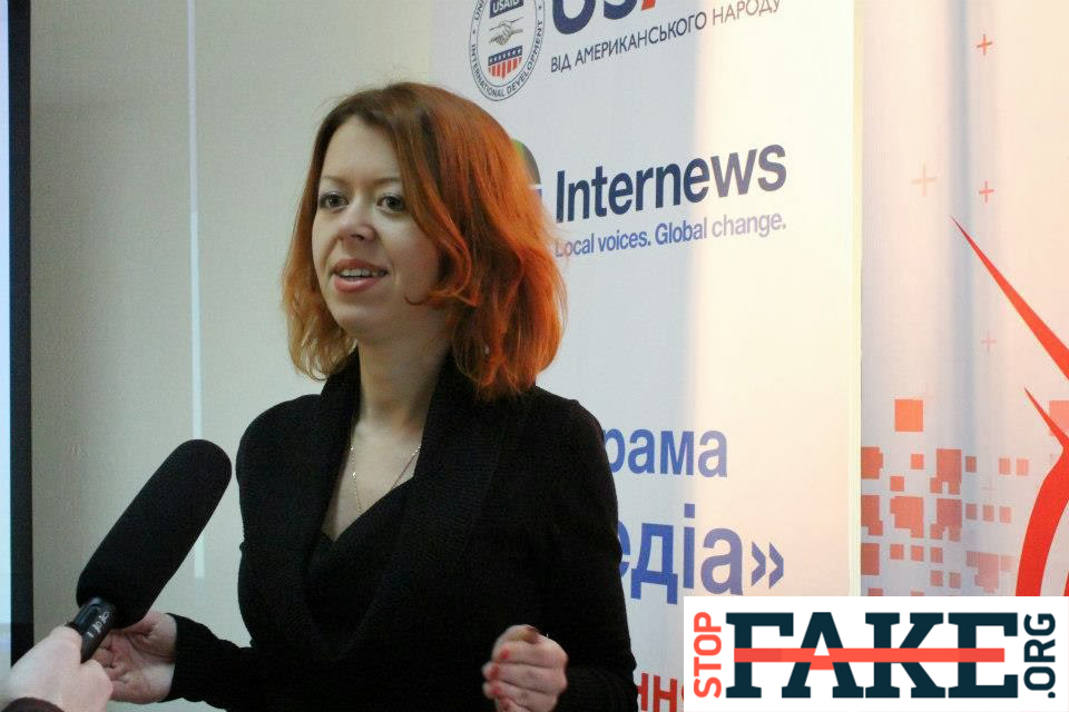 15 хороших новин про фактчекінг та одна погана – від Ольги Юркової, співзасновниці StopFake