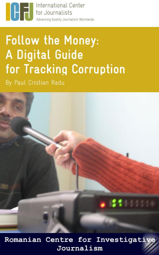 Відстежуйте гроші: Посібник із відстеження корупції (англійською мовою)