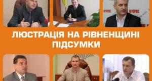 Люстрація – не панацея: чому на Рівненщині незадоволені очищенням влади